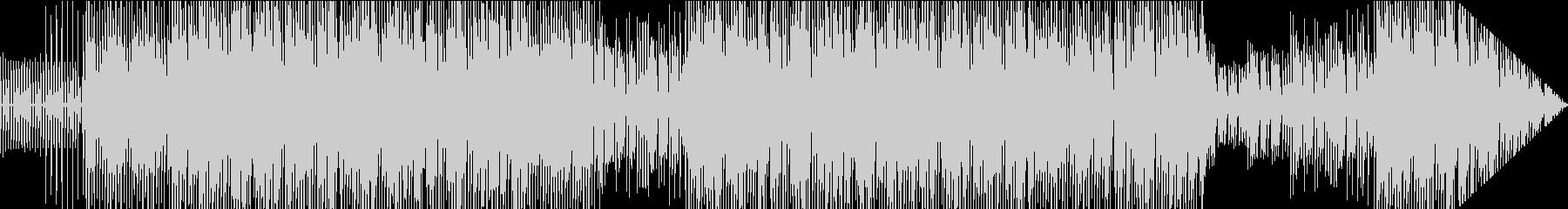 ダンスミュージック風のスタイルポップの未再生の波形