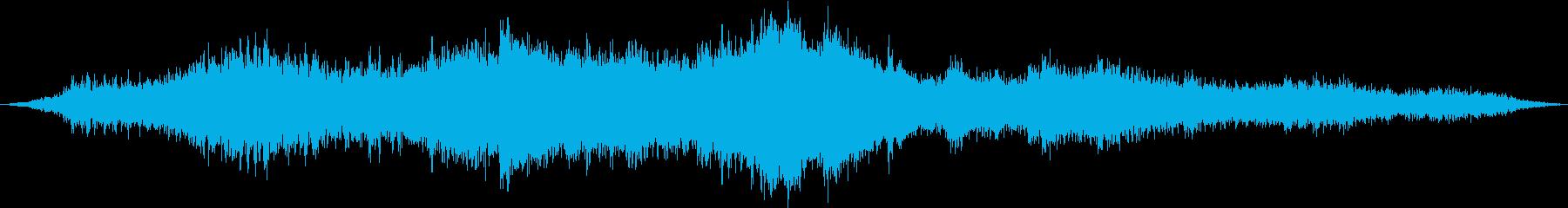 【ダークアンビエント】 地下深くの再生済みの波形