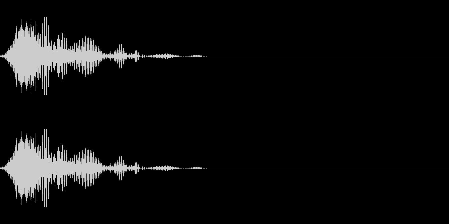 斬撃音(刀や剣で斬る/刺す効果音) 17の未再生の波形