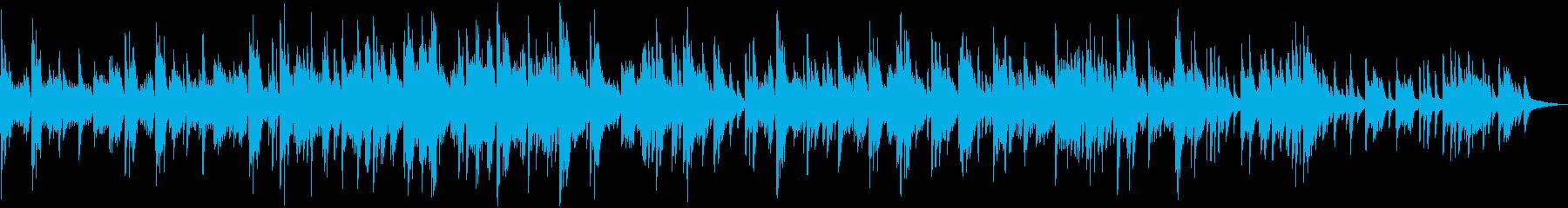 ラウンジ・サロン・森林浴 爽やかなピアノの再生済みの波形