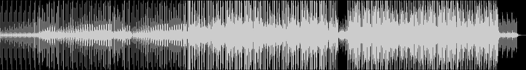 シンプルなコード感の爽やかなBGMの未再生の波形