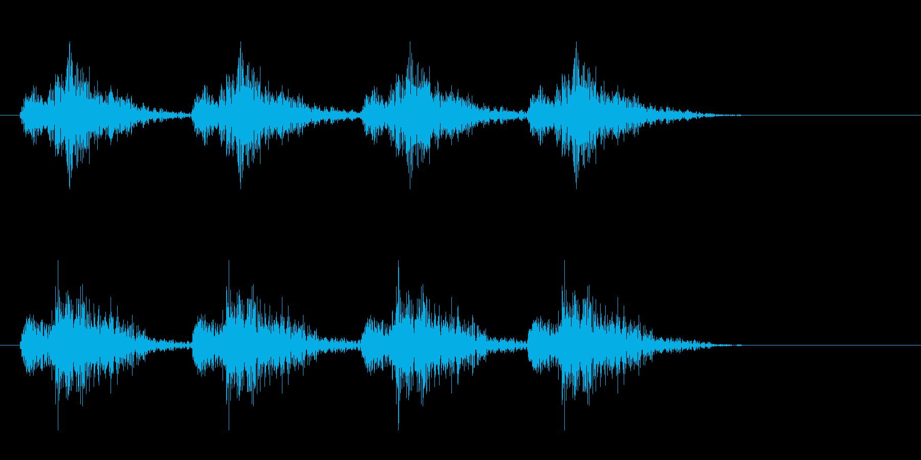 ロボット 歩行 2の再生済みの波形
