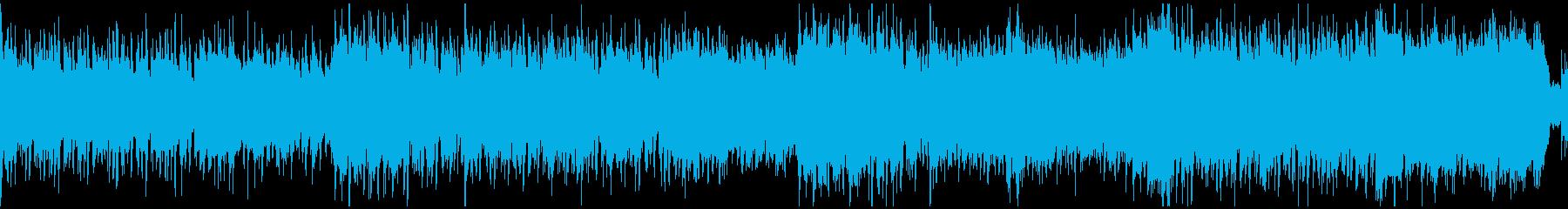 古代遺跡・ジャングル探索BGM(ループ)の再生済みの波形