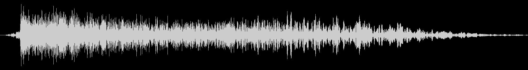 メニュー画面音(ウインドウ,決定等)06の未再生の波形