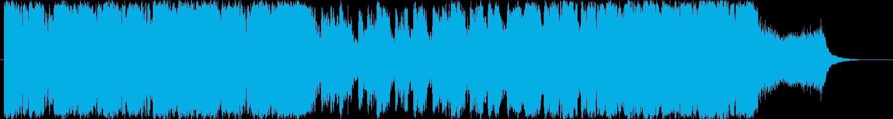 重く迫力のある壮大なオーケストラ 魔王の再生済みの波形