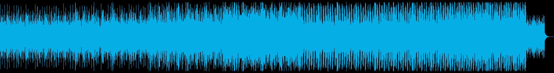 ニュース/解説/分析/4つ打ち/テクノの再生済みの波形