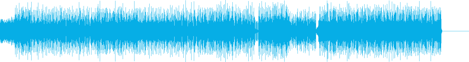 ハッピー、エネルギッシュ、ポップ/...の再生済みの波形