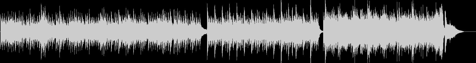 ピアノとストリングスの優しい曲07の未再生の波形