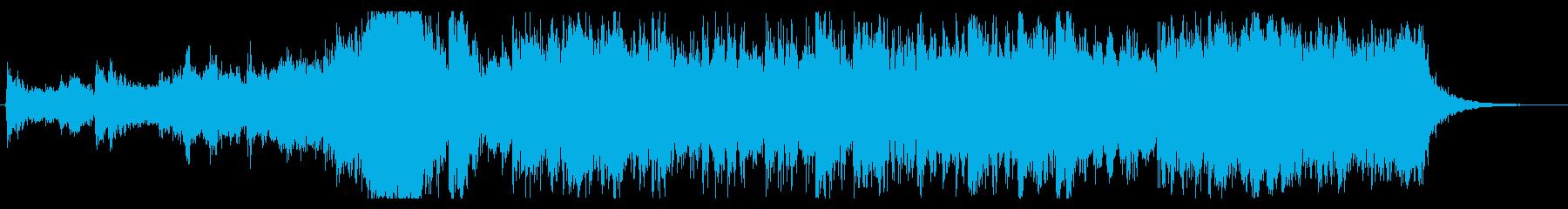 自然 壮大 オーケストラ 30秒の再生済みの波形