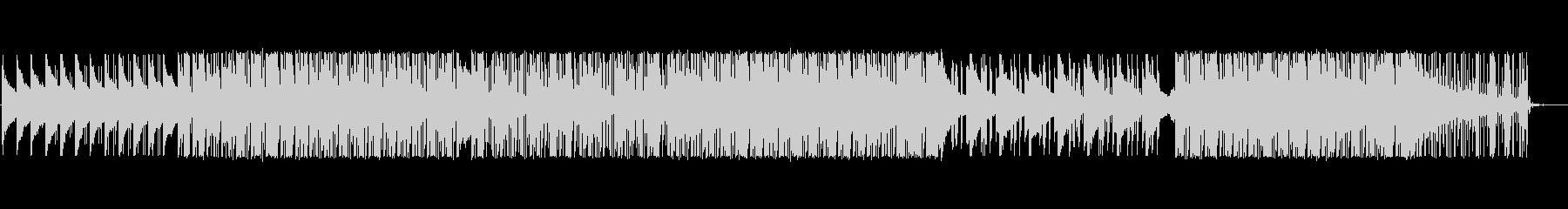 ソウル風ヒップホップトラックの未再生の波形