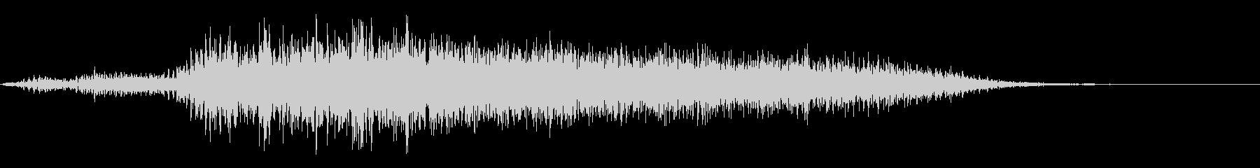 ヤギの鳴き声(メェー)の未再生の波形
