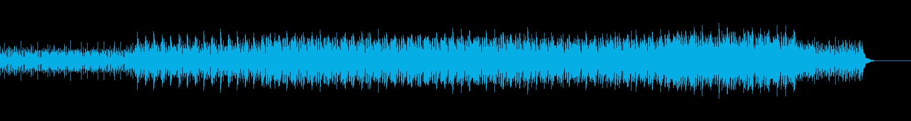 爽やかでふわふわキラキラなテクノジングルの再生済みの波形