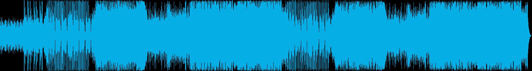 ボーカルチョップが印象的なハウスポップの再生済みの波形