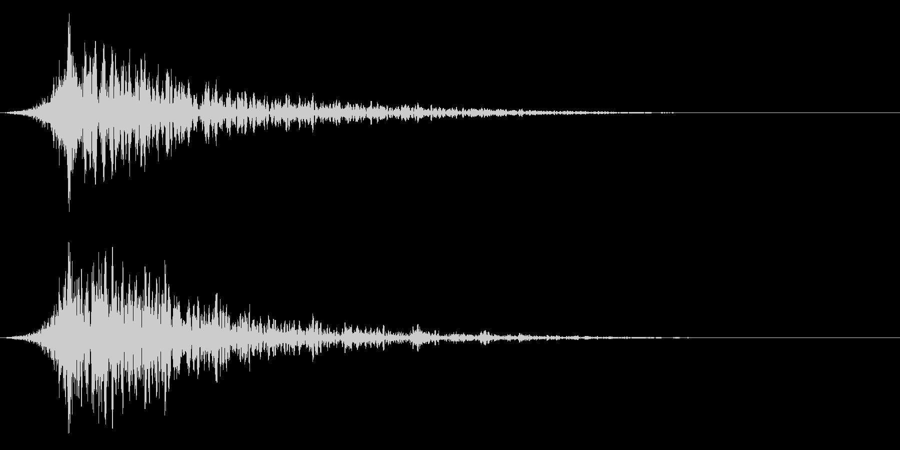 シュードーン-41-1(インパクト音)の未再生の波形