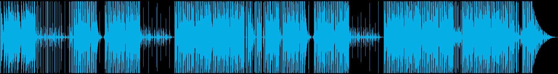Bounce な Trapビートの再生済みの波形