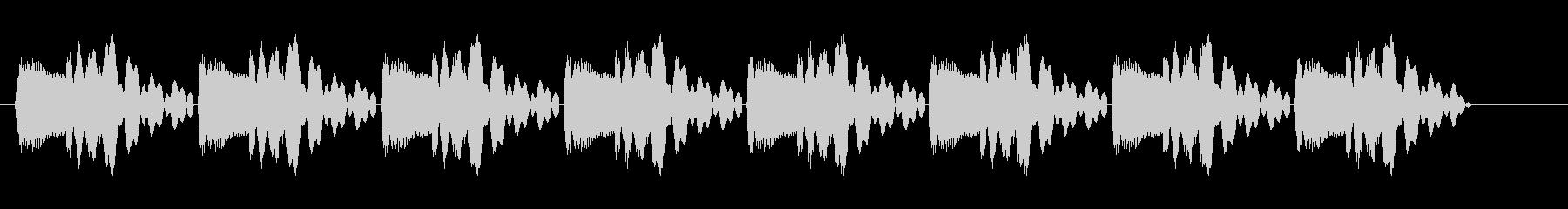 ピヨピヨピヨ (通知に適している効果音)の未再生の波形