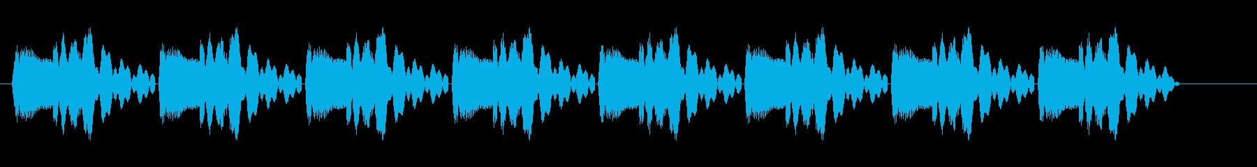 ピヨピヨピヨ (通知に適している効果音)の再生済みの波形