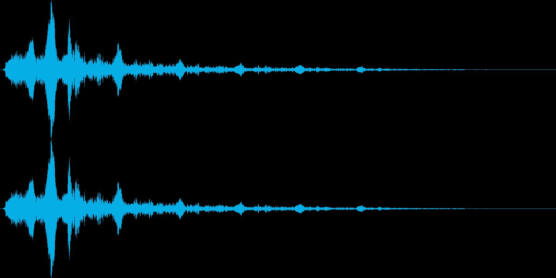 【女の子の幽霊】うふふふ……(エコー多)の再生済みの波形