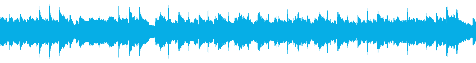 まったり系ケルト〜木漏れ日の下で_ループの再生済みの波形