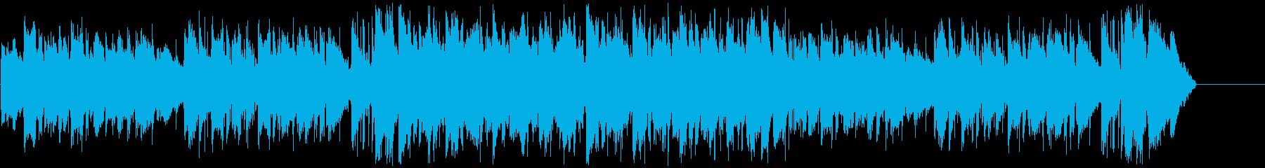Youtube・雨のペット・優しいR&Bの再生済みの波形