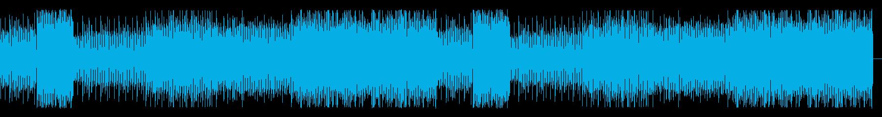 変幻自在ARP4つ打ちポップスの再生済みの波形