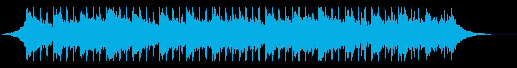 企業業績(40秒)の再生済みの波形