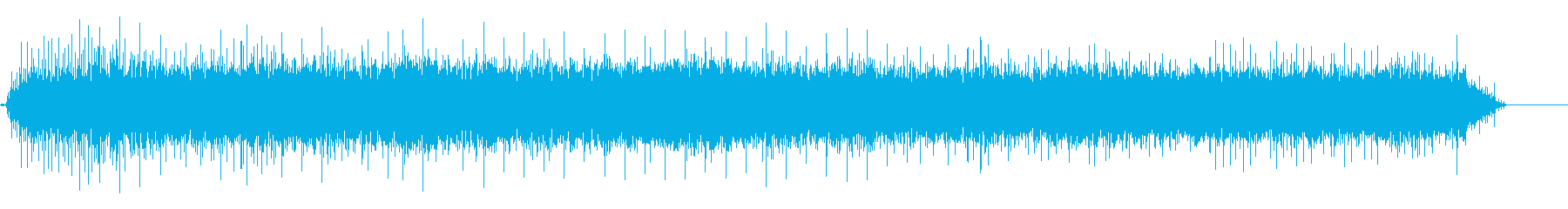 電動歯ブラシ-安定したノイズの再生済みの波形
