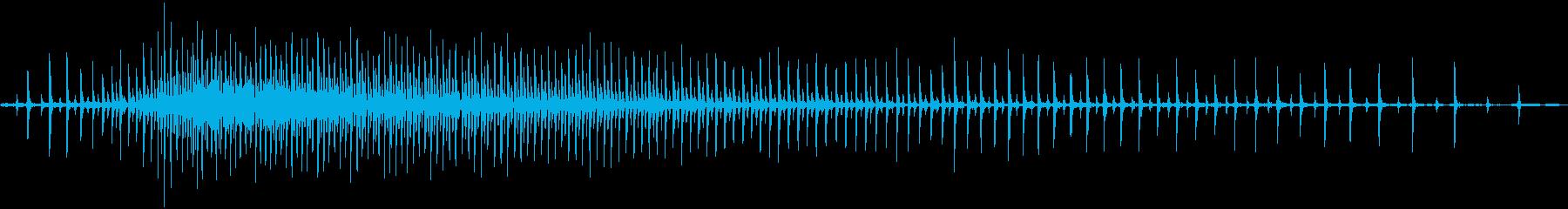釣りリール鋳造の再生済みの波形