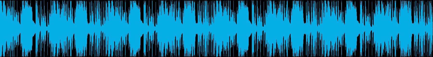 落ち着きとかわいらしさのある楽曲の再生済みの波形