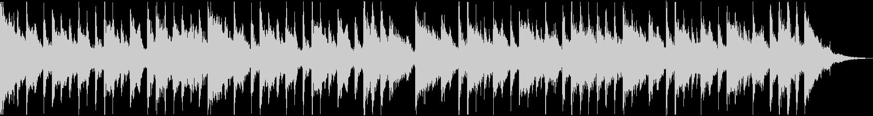 クラシカルなゴシックホラーワルツの未再生の波形