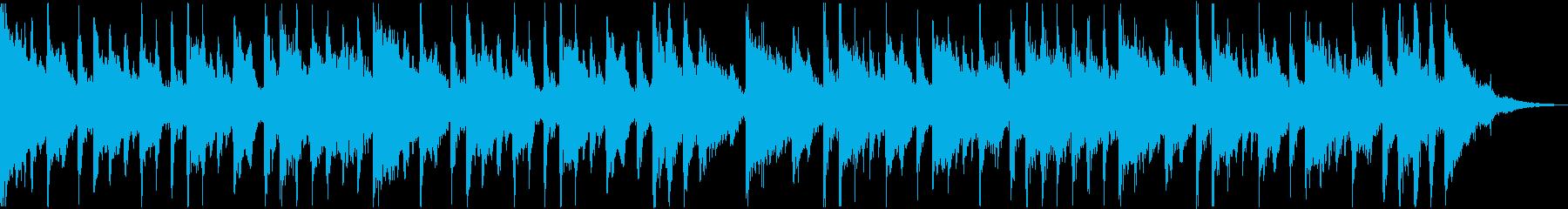 クラシカルなゴシックホラーワルツの再生済みの波形