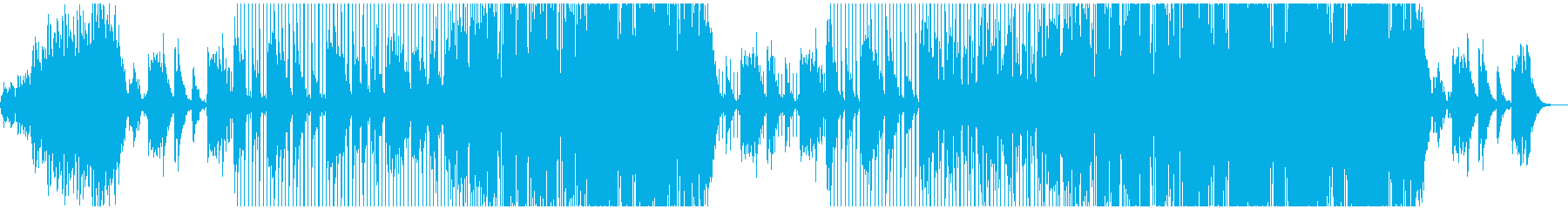 感動、トロピカル、ADM、洋楽テイストの再生済みの波形