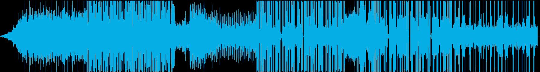 クールで無機質なHybrid Trapの再生済みの波形