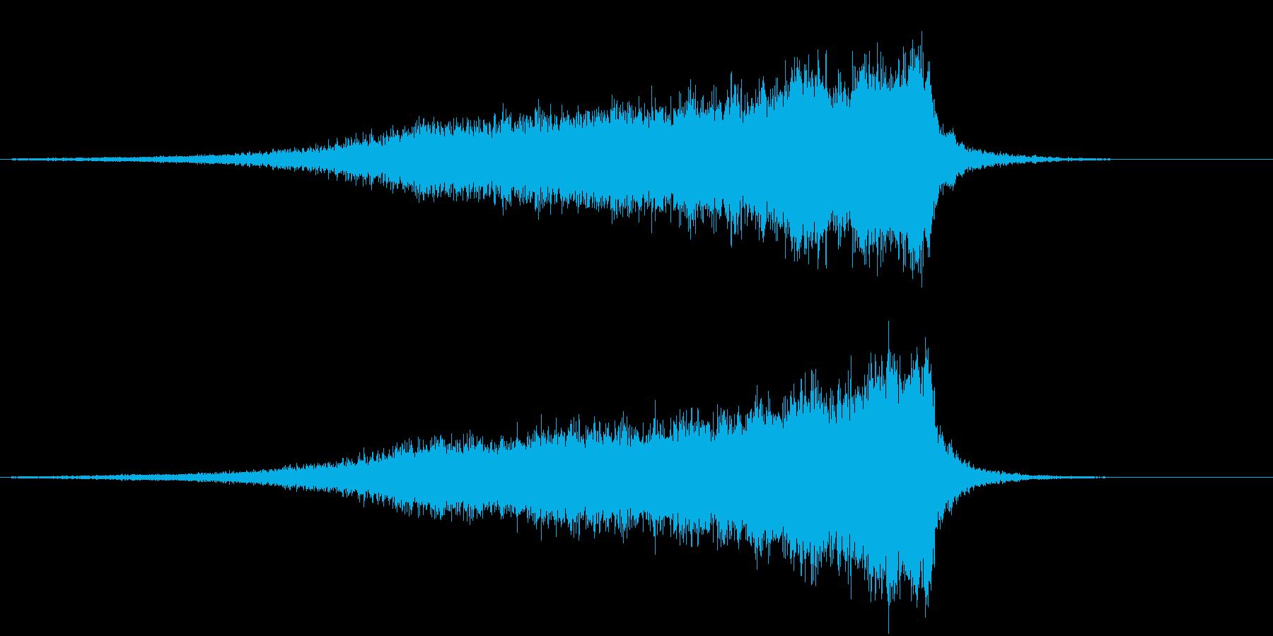 【ライザー】 26 SFサウンドの再生済みの波形