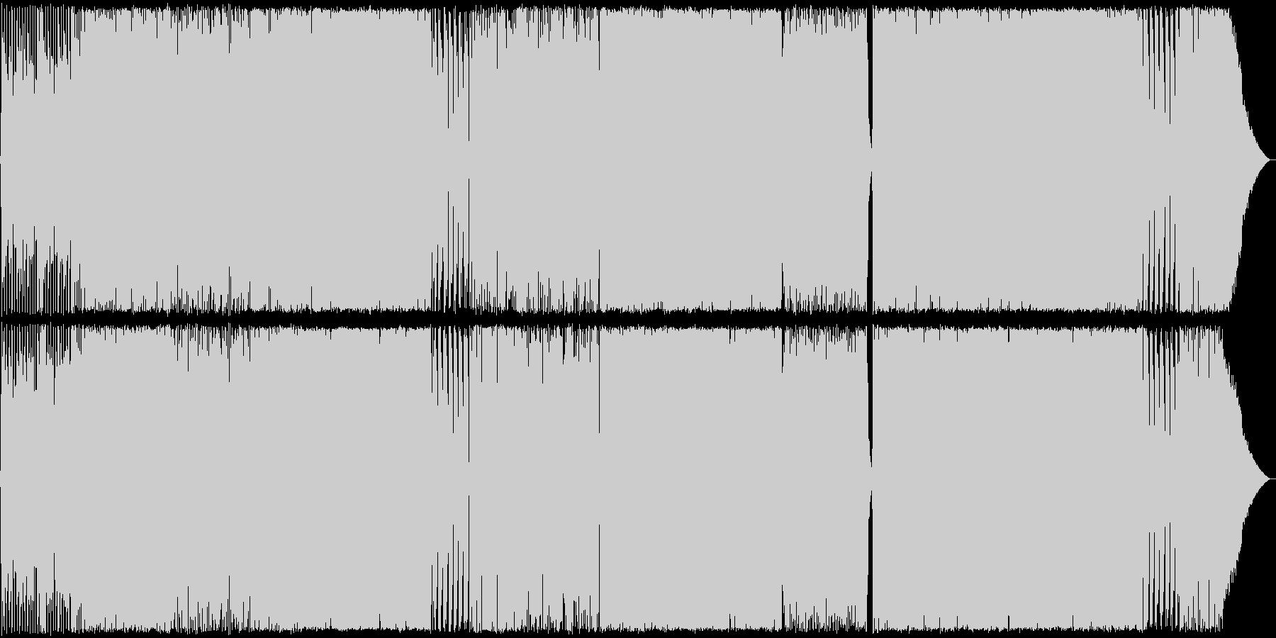 哀愁Rock02 生演奏の未再生の波形