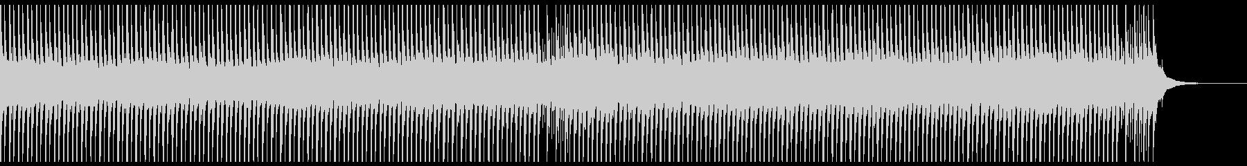 旅行(60秒)の未再生の波形
