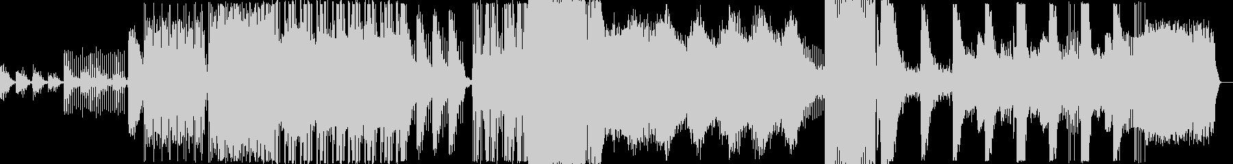 暗いエレクトロの未再生の波形