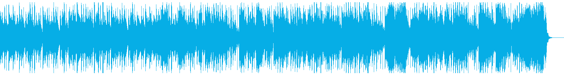 古筝・楊琴による中国伝統音楽風のBGMの再生済みの波形