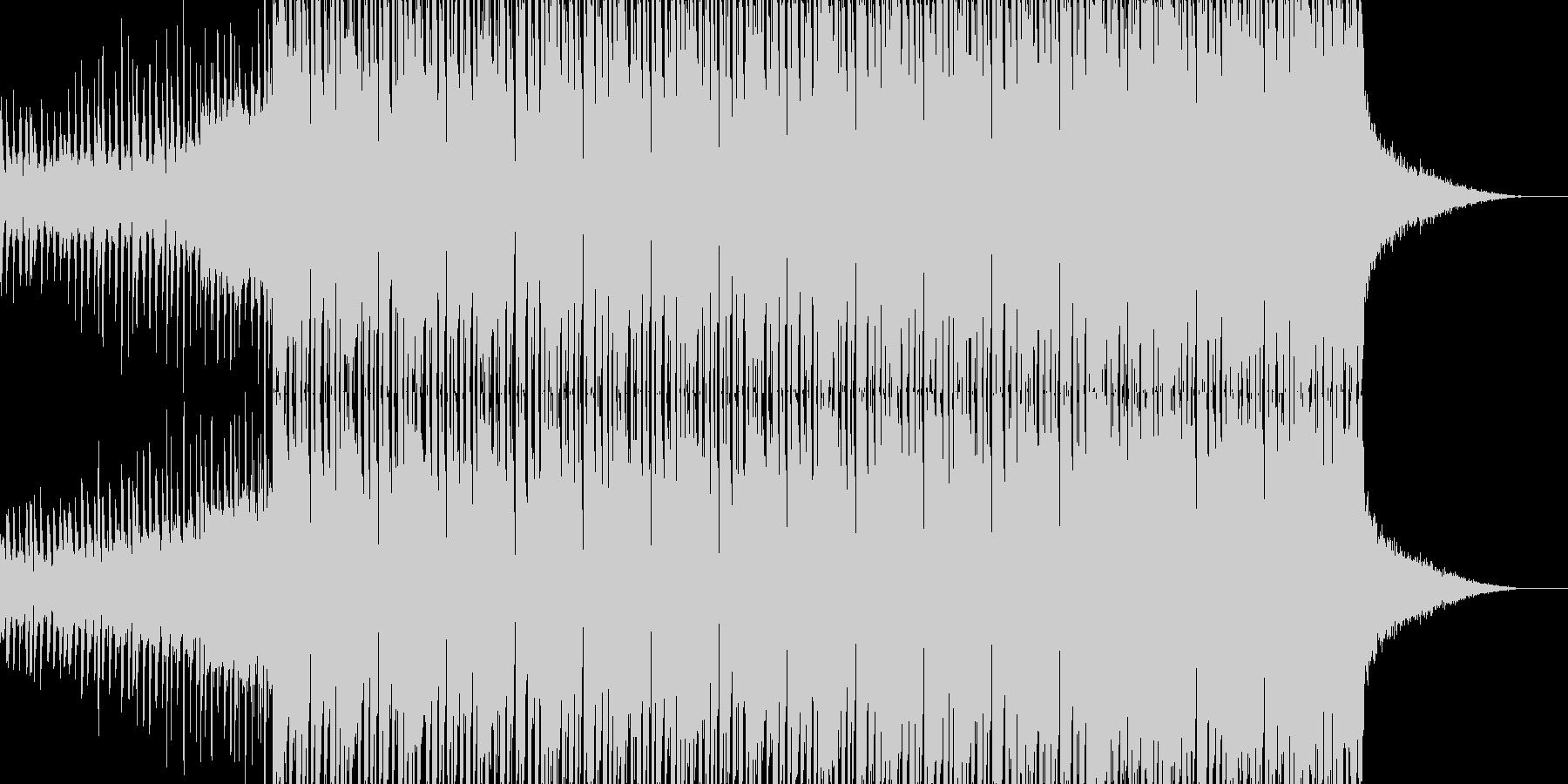 #ディープハウス#EDM#テクノの未再生の波形