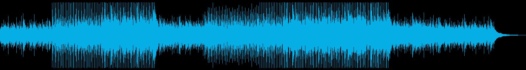 企業VP,穏やかアコースティックギターの再生済みの波形