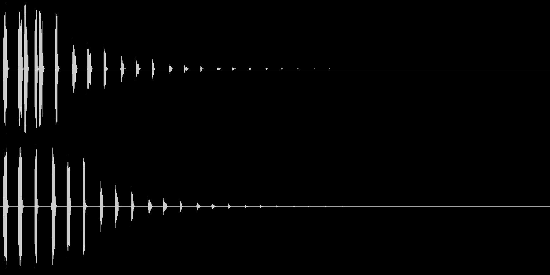 ポポポッポポ(バブル、水属性、泡の魔法)の未再生の波形