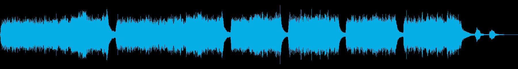 ハリウッド「悲しみ大声で泣く」の再生済みの波形