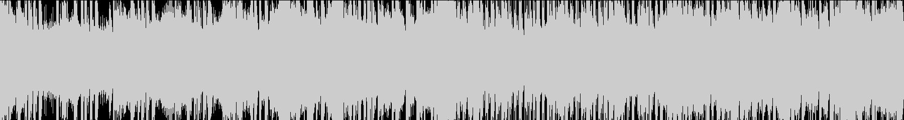 30秒でサビ、電子音さわやか/ループの未再生の波形