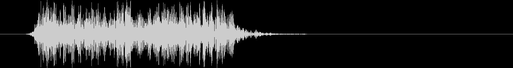 激情的なパンクサウンド#01(ジングル)の未再生の波形