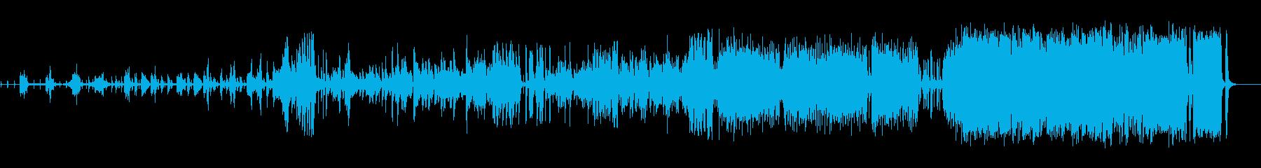 ミュージカルOPのようなフルオーケストラの再生済みの波形