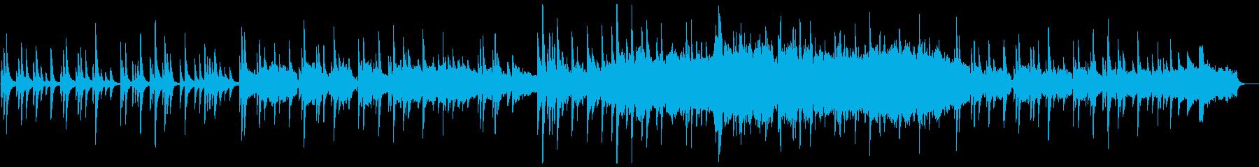 ノスタルジックで切ない和風オーケストラの再生済みの波形