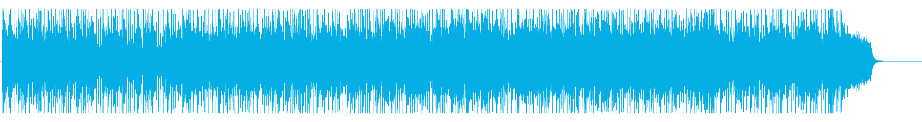 開放的な昼下がりを演出するフュージョンの再生済みの波形