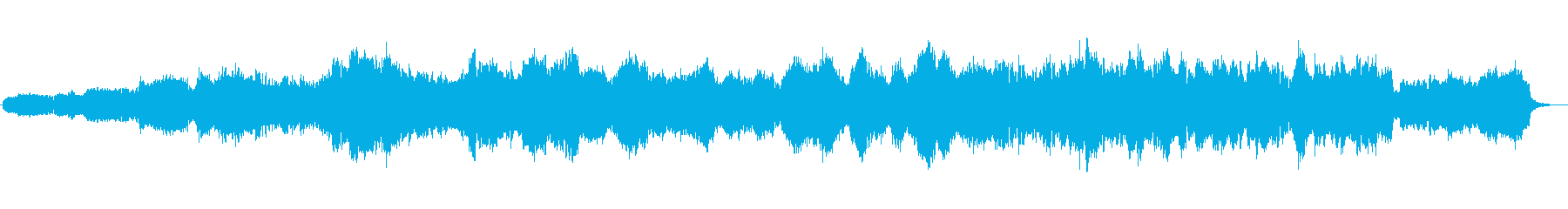 本格的な弦楽四重奏の再生済みの波形
