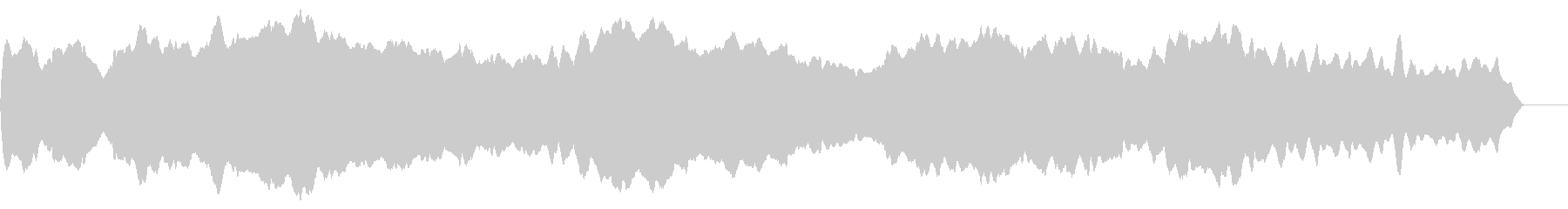 フラフラしたスライドホイッスル の未再生の波形