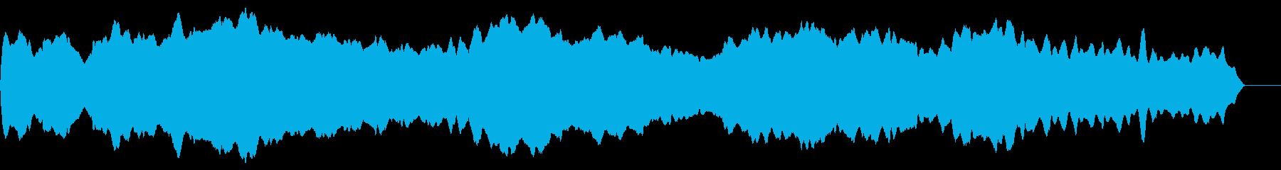 フラフラしたスライドホイッスル の再生済みの波形